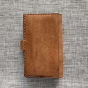 B6 Nanami cover with magnetic closure and back pocket